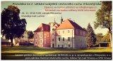 2. setkání subjektů cestovního ruchu Vltavotýnska